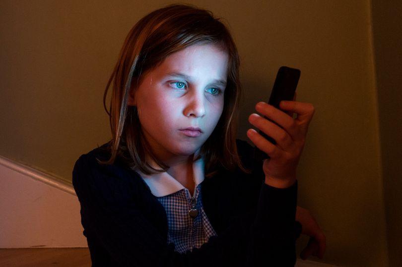 0_School_Girl_Cyberbullying_Online_Victim_at_Home