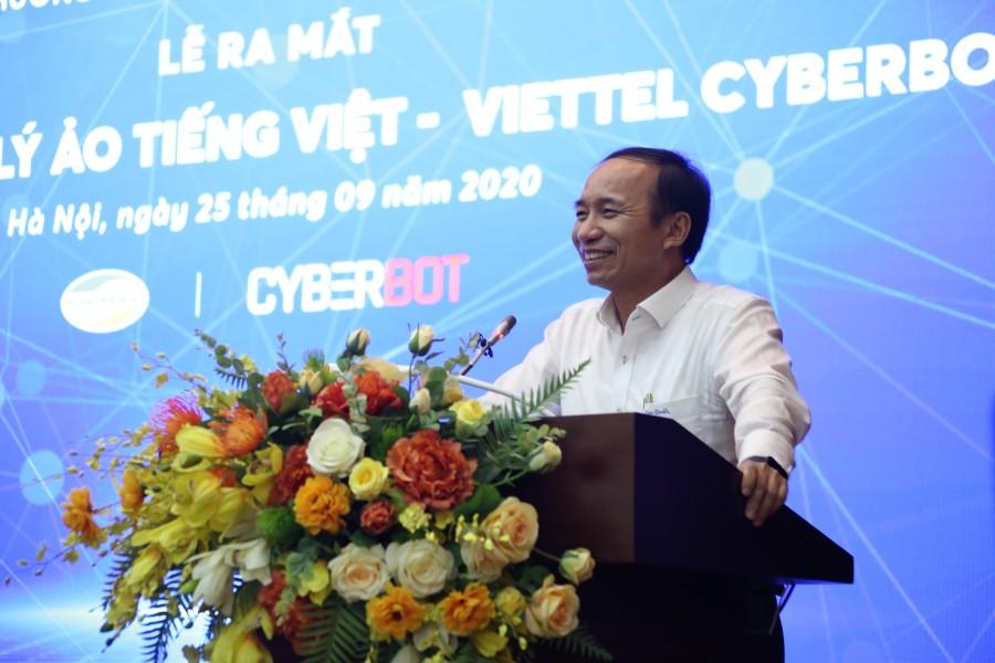 Cục phó Cục Tin học hóa Bộ TT-TT Nguyễn Trọng Đường phát biểu tại sự kiện